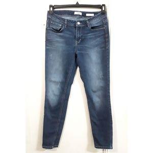 Kensie Effortless Ankle Mid Rise Jeans